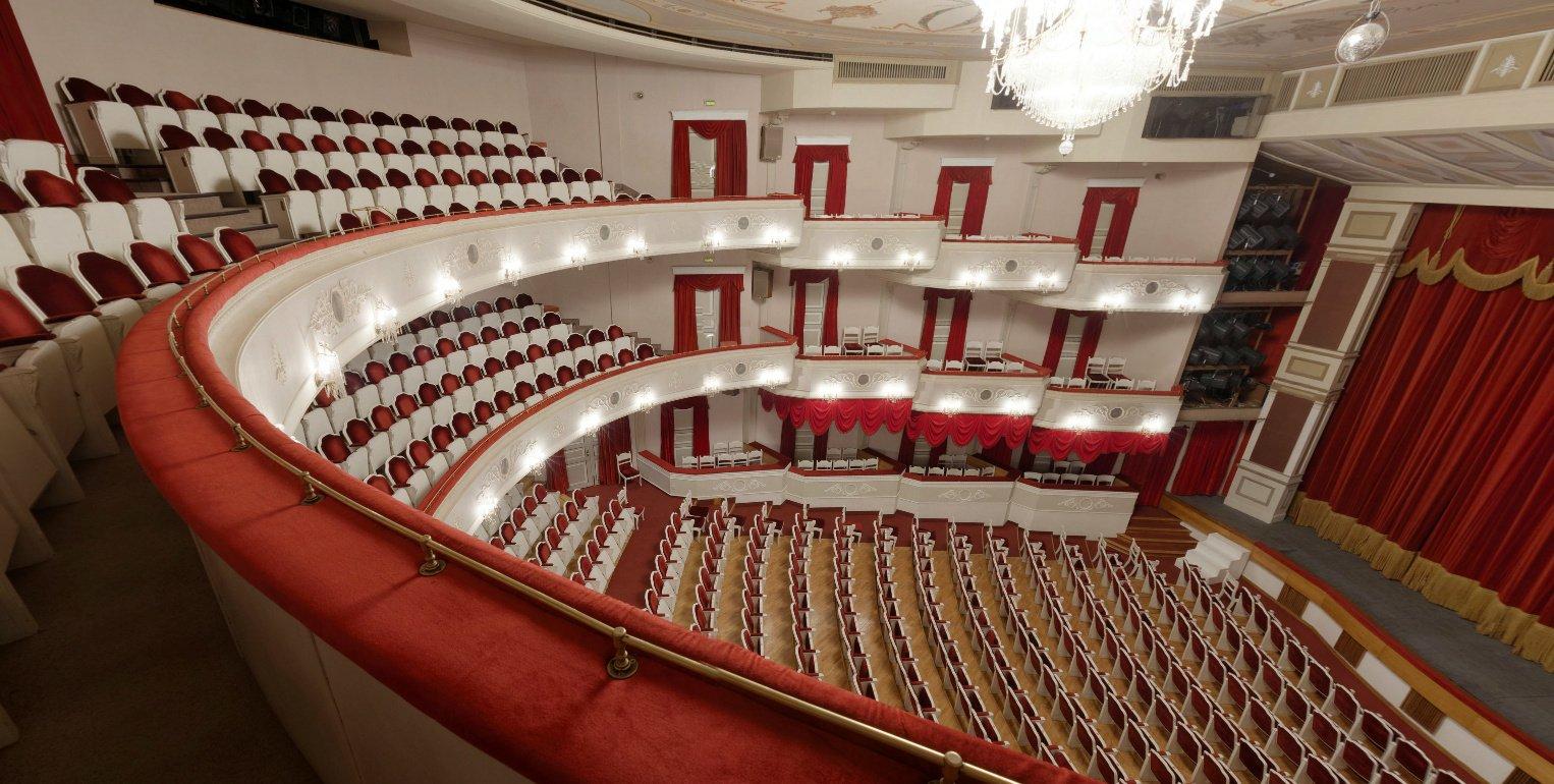 Схема зала малого театра на ордынке фото 907